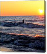 Surf's Up Grand Bend Canvas Print