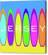 Surfs Up - Jersey Canvas Print