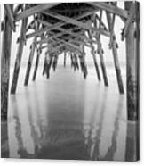 Surfside Pier Exposure Canvas Print