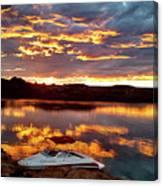 Surise On Lake Powell Canvas Print