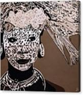 Surma Girl Canvas Print