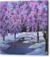 Surprise At Spring Time Canvas Print