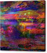 Surreal Angry Cloud Canvas Print