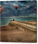 Surreal Beach Canvas Print