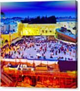 Surreal Jerusalem Art Canvas Print