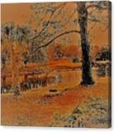 Surreal Langan Park 2 - Mobile Alabama Canvas Print