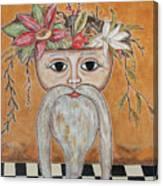 Surreal Santa Bouquet 2 Canvas Print
