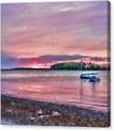 Surreal Sunset Canvas Print