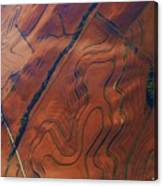 Surrealism Over The Plains Canvas Print