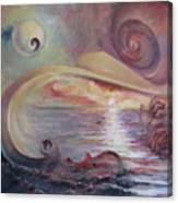 Surrealistic Improvisation Canvas Print