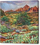 Surrounded By Sedona Canvas Print