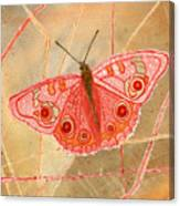 Survival Butterfly Canvas Print