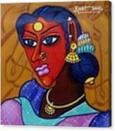 Suryakala Canvas Print