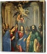 Sus Au Temple Canvas Print
