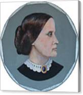 Susan B Anthony Coin Canvas Print