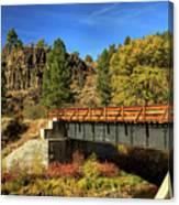 Susan River Bridge On The Bizz Canvas Print
