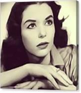 Susan Strasberg, Vintage Actress Canvas Print
