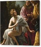 Susanna And The Elders Canvas Print