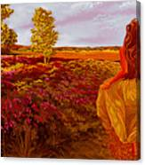 Susan's World Canvas Print