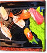Sushi Plate 2 Canvas Print