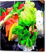 Sushi Plate 5 Canvas Print
