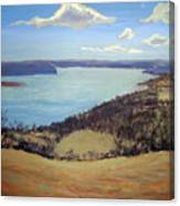 Susquehanna River View Canvas Print