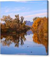 Sutter Buttes From Hughes Road Canvas Print