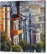 Post Street Canvas Print