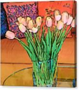 Suzannes Flowers Canvas Print