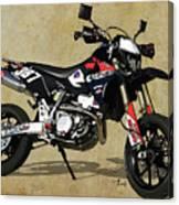 Suzuki Race Motorcycle. 387. Canvas Print