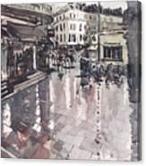 Sw7 London Canvas Print