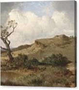 Swabian Landscape Canvas Print