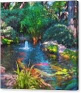 Swamis Garden 2 Canvas Print