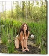 Swamp Beauty Five Canvas Print