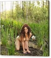 Swamp Beauty Four Canvas Print