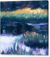 Swamp Flowers Canvas Print