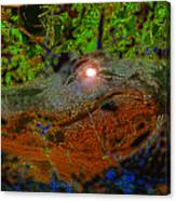 Swampthing Out There Canvas Print
