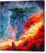 Swan Nebula Canvas Print