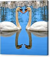 Swan Princess Canvas Print