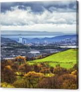 Swansea And Mumbles Canvas Print