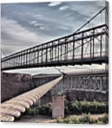 Swayback Suspension Bridge Canvas Print