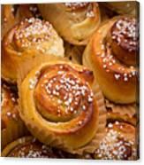 Swedish Cinnamon Rolls Canvas Print