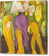 Sweet Auburn Canvas Print