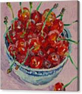 Sweet Cherries Canvas Print