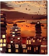 Sweet Cityscape  Canvas Print