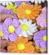 Sweet Floral Array Canvas Print