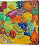 Sweet Fruits Canvas Print