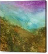 Sweet Hills Canvas Print