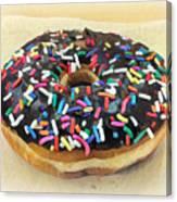 Sweet Indulgence - Donut Canvas Print