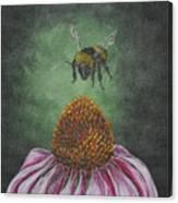 Sweet Landing Canvas Print